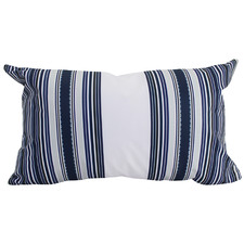 Blue & White Dulus Outdoor Cushion