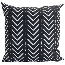 Black & White Marie Outdoor Cushion