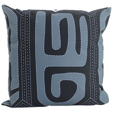 Black & White Ira Outdoor Cushion