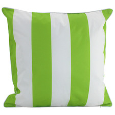 Lime Stripe Outdoor Cushion