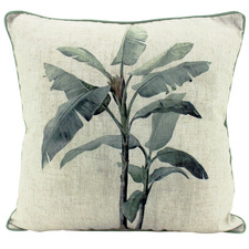 Colonial Linen-Blend Cushion