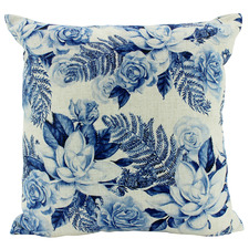 Hamptons Square Linen-Blend Cushion