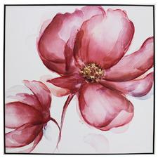 Bon Fleur Framed Canvas Wall Art