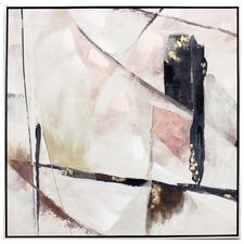 Rani Abstract Framed Canvas Wall Art