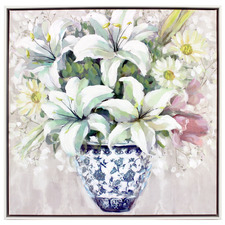 Berne Bouquet Framed Canvas Wall Art