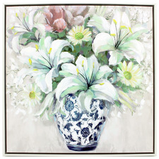 Remi Bouquet Framed Canvas Wall Art