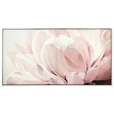 Floweret Design Framed Canvas Wall Art