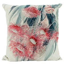 Brachy Linen-Blend Cushion