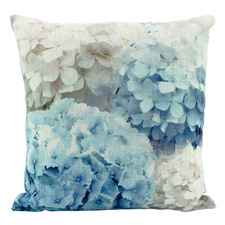 Blue Heaven Linen-Blend Cushion