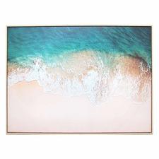 Smooth Tide Framed Canvas Wall Art