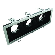 Slotter Recessed Triple Downlight