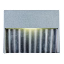 LED Step Light in Silver
