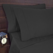 1900 Thread Count  Sheet Set Charcoal