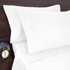 1900 Thread Count  Sheet Set White