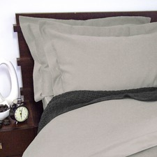 1900 Thread Count Quilt Cover Set Grey