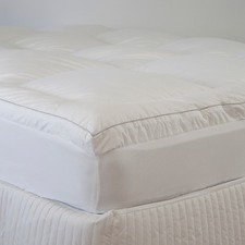 High Loft Ball Fibre Mattress Topper