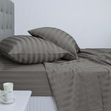 Ardor 1000TC Striped Cotton Blend Sheet Set