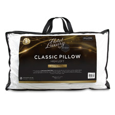 White Hotel Luxury High Loft Pillow