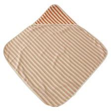Orion Orange Hooded Baby Towel