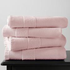 Blush 600GSM Waffle Bath Towel