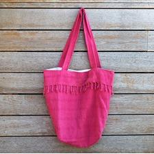 Adore Fuchsia Beach Bag