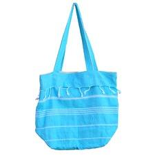 De La Mer Turquoise Beach Bag