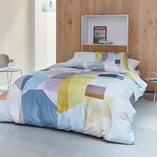 Pastel Papercut Cotton Sateen Quilt Cover Set