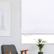 White Holland Roller Blind