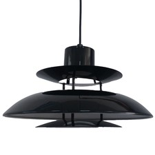 Jetson Gloss Black Pendant Light