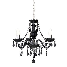 Ita Black Pendant Light