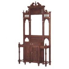 Wide Hall Stand with cupboard