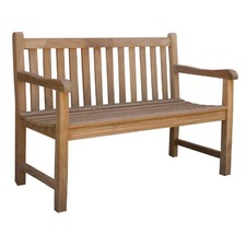 Classic Teak Outdoor Bench Seat