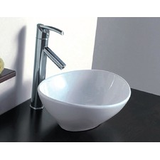 Artisic Above Bench Counter Top Ceramic Basin