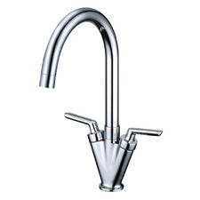 Jamie Twin Handle Sink Mixer