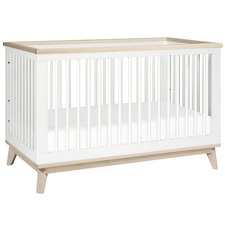Scoot New Zealand Pine Wood Cot