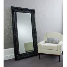 Valois Mirror in Satin Black