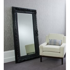 Vicky Mirror in Satin Black