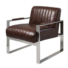 Torino Leather Arm Chair