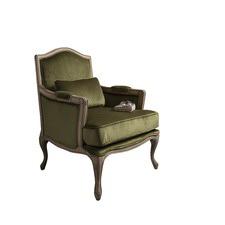 Hathaway Velvet Chair Moss Green