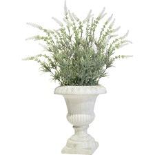 Faux Floral Urn