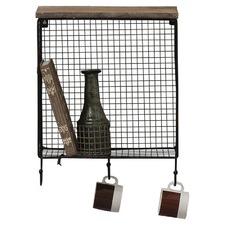 Langton Wire Storage Shelf with Hooks