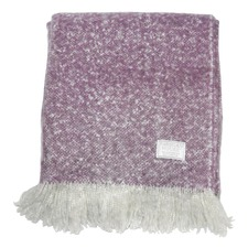 Heather Chic Faux Mohair Throw