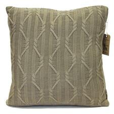 Taupe Arran Cushion