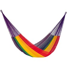 Rainbow Cotton Hammock