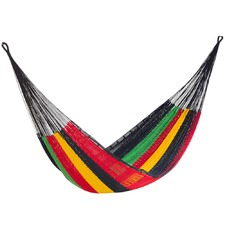 Rasta Outdoor Cotton Hammock