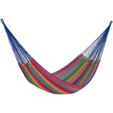 King Mexicana Outdoor Cotton Hammock