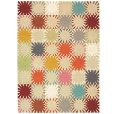 Horacio Geometric Hand-Tufted Wool Rug