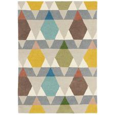 Yellow Estella Vases Hand-Tufted Wool Rug