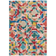 Estella Tetris Hand-Tufted Wool Rug