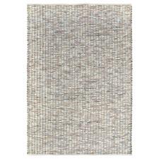 Grey Grain Hand-Woven Pure New Wool Rug